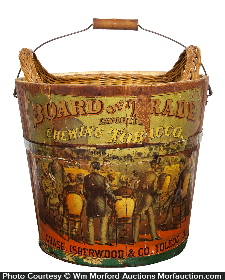 Board of Trade Chewing Tobacco Pail
