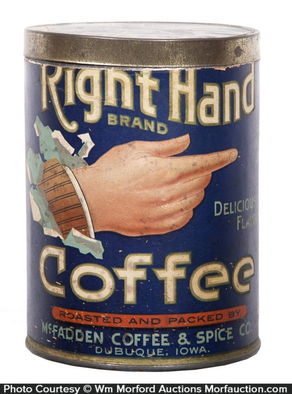 Right Hand Coffee Can