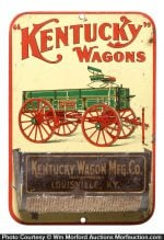 Kentucky Wagons Match Holder