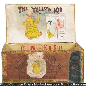 Yellow Kid Cigar Box