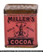 Miller's Cocoa Sample Tin