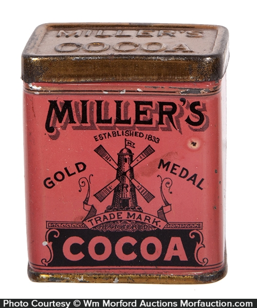 Miller's Cocoa Sample Tin