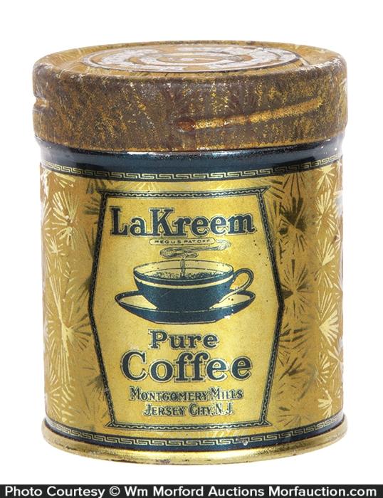 La Kreem Coffee Sample Tin