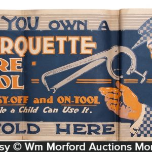 Marquette Tire Tool Sign