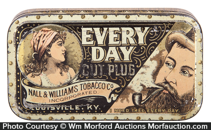 Every Day Tobacco Tin
