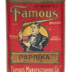 Famous Brand Paprika Tin
