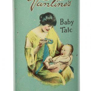 Vantine Sana-Dermal Baby Talcum Tin