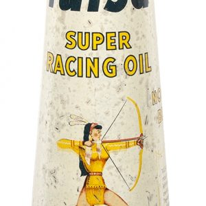 Tulsa Racing Motor Oil Can
