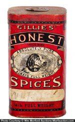 Gillies' Honest Spice Tin