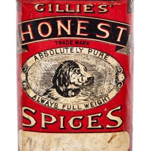 Gillies' Honest Spice Tin