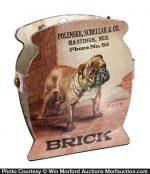 Hasting Brick Works Bulldog Clip