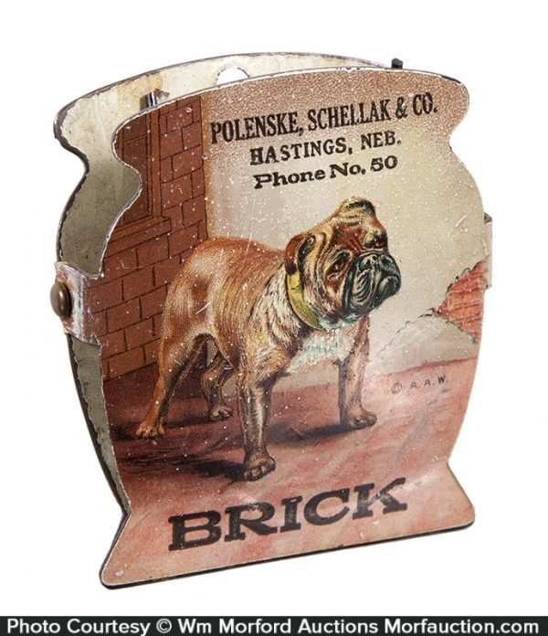 Hasting Brick Works Bulldog Clip