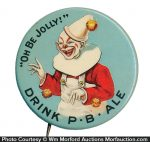 Bunker Hill Brewing Co. Pin Back Button