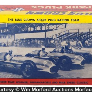 Blue Crown Spark Plugs Box