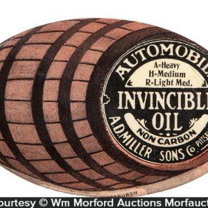 Invincible Motor Oil Pocket Mirror