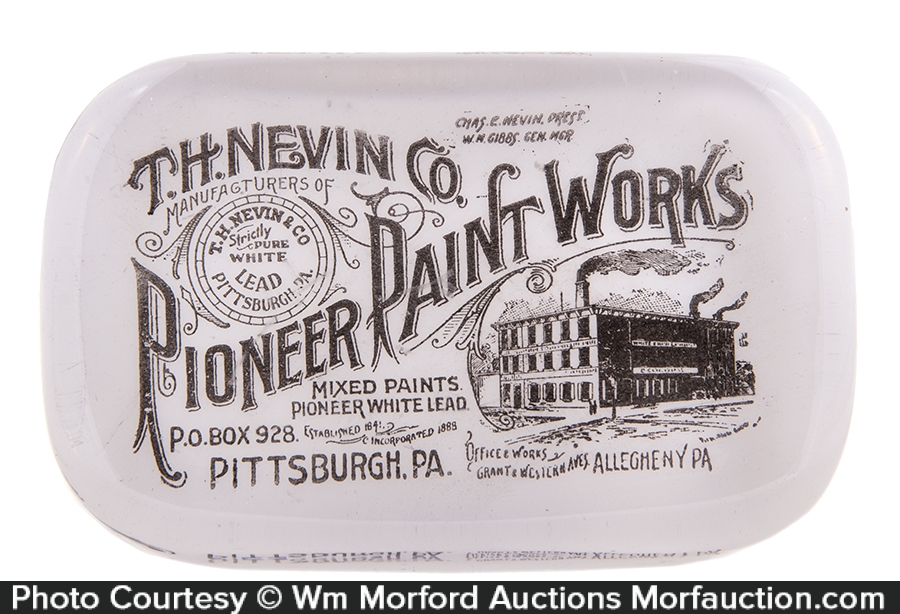 Pioneer Paint Works Paperweight