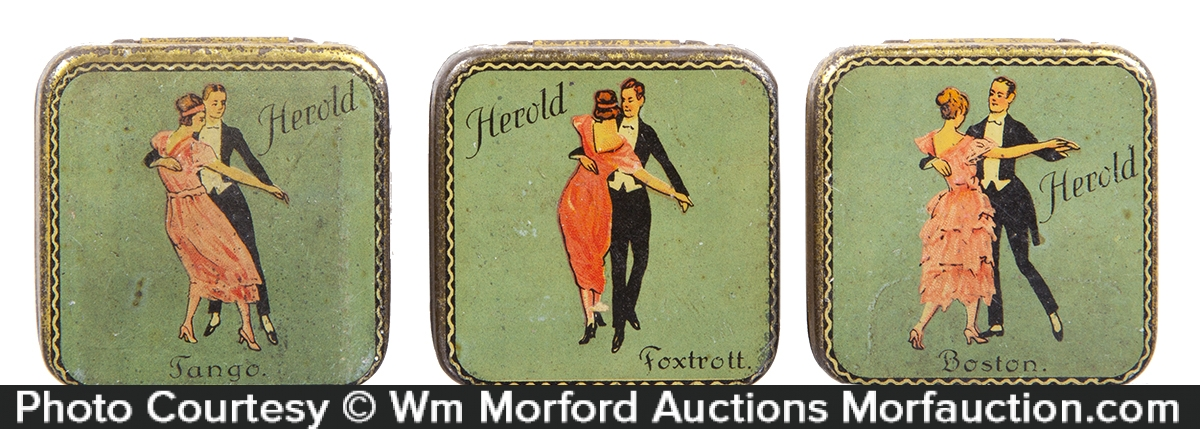 Herold Phonograph Needles Tins