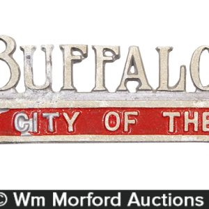 Buffalo NY License Plate Topper