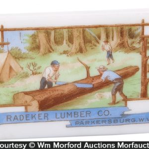 West Virginia Lumber Paperweight