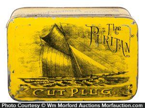 Puritan Tobacco Tin