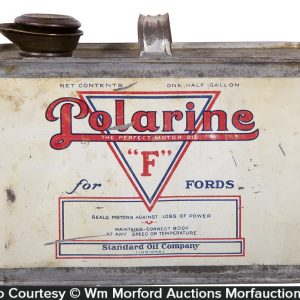 "Polarine ""F"" for Ford's Motor Oil Can"