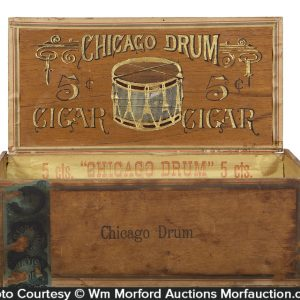 Chicago Drum Cigar Box