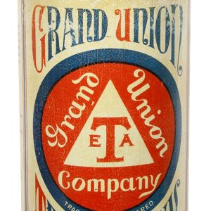 Grand Union Tea Store Tin