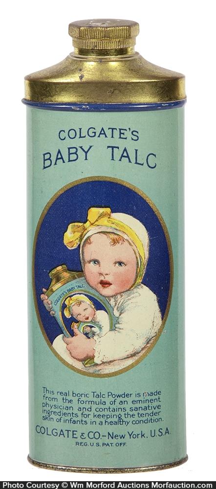 Colgate's Baby Talcum Tin