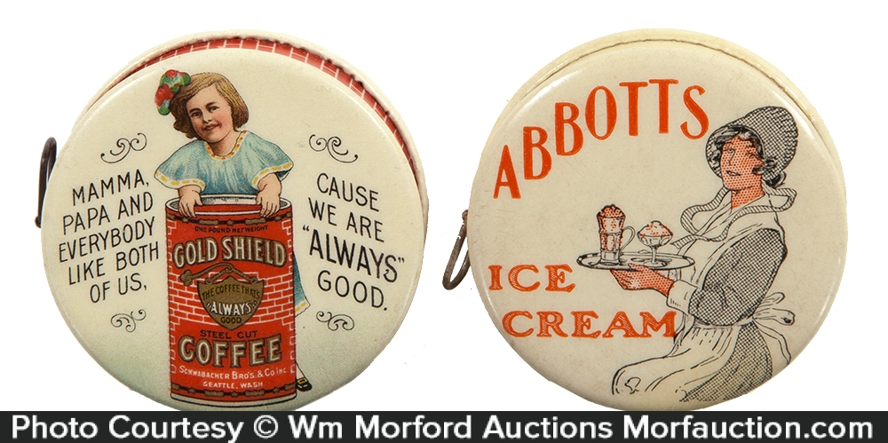 Vintage Advertising Tape Measures