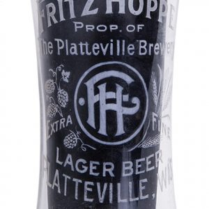 Fritz Hoppe Beer Glass