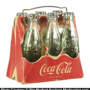 Miniature Coca-Cola 6-Pack Carrier