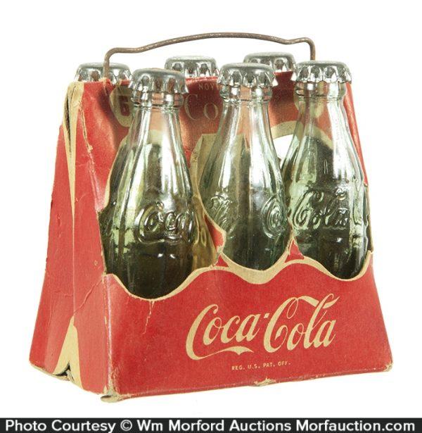 Miniature Coca-Cola 6-Pack Carrier