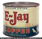 E-Jay Key Wind Coffee Can