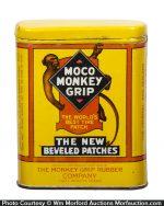 Moco Monkey Grip Tire Patch Tin