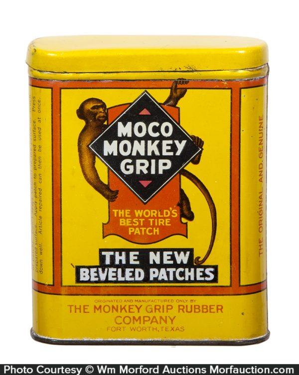 Moco Monkey Grip Tire Patch Tin