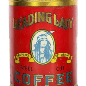 Leading Lady Coffee Tin