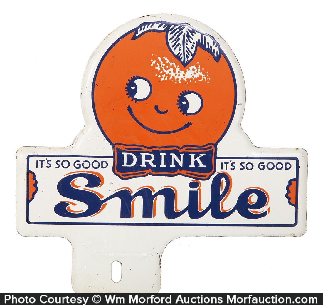 Smile Soda Bumper Tag
