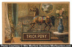 Trick Pony Bank Trade Card