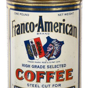 Franco-American Coffee Can