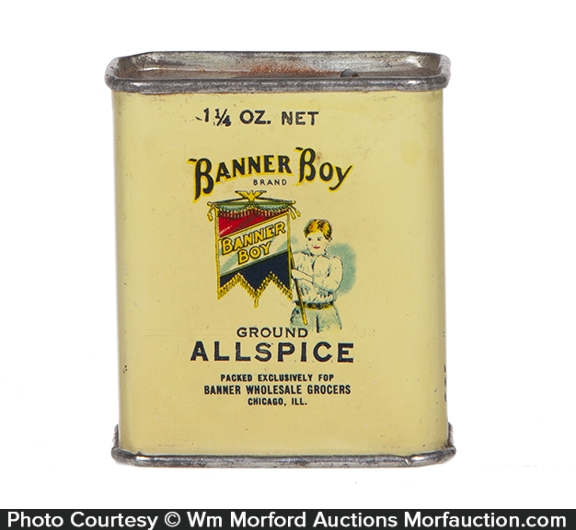 Banner Boy Spice Tin