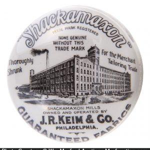 Keim Shackamaxon Fabrics Paperweight