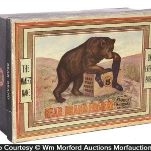 Bear Hosiery Display Box