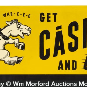 Casite Motor Oil Sign