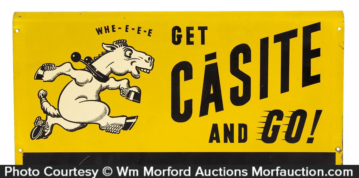 Casite Motor Oil Sign