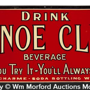 Canoe Club Soda Sign