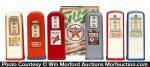 Gas Pump Salt & Pepper Shakers