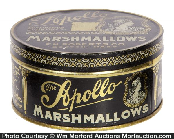 Apollo Marshmallows Tin