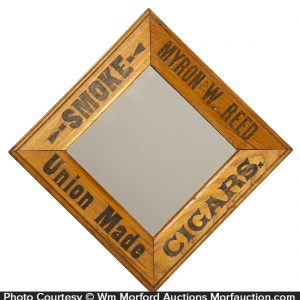 Myron Reed Cigars Mirror