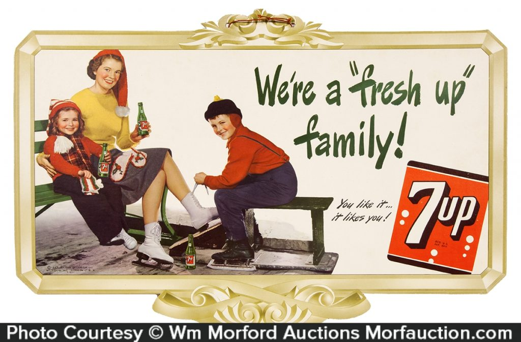 7-Up Fresh Up Family Sign