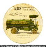 Mack Gas Trucks Paperweight Mirror (Texaco)